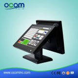 "15 "" Stellung System Electronic Cash Register mit 15 "" Dual Screen"