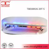 Estroboscópico rojo Lightbar del azul LED con el altavoz interior 100W (TBD08926-20-3T-S)