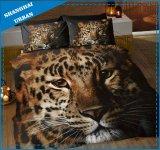 Los animales africanos 3D imprimieron el conjunto del Bedsheet de la cubierta del Duvet