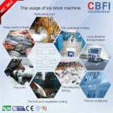 Nieuw Ontwerp die de Machine van het Ijs van het Blok van de Evaporator van de Pijp van de Rol goedkeuren