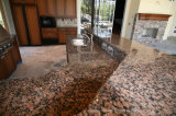 Bwown baltico Granite Kitchen Countertop per Kitchen/Bathroom/Wall