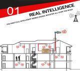 Ripetitore mobile a due bande del segnale del ripetitore 2g3g del segnale del telefono delle cellule 850/2100MHz