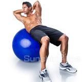 Bola de la aptitud de la bola de la yoga del PVC de la bola del ejercicio de la bola del balance