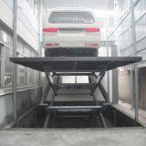 油圧セリウムが付いている地階のための車の上昇を切りなさい
