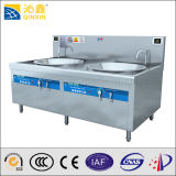 Wok électrique à cuire commercial d'équipement de nourriture chinoise