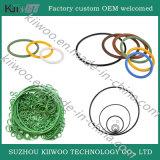 Уплотнение колцеобразного уплотнения Viton оптового плоского силикона резиновый