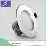 Techo blanco Downlight del aluminio 3W 5W 7W 9W 12W 15W LED
