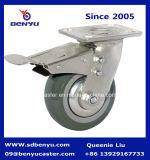 頑丈なアーチ状の高いゴムTPRの旋回装置の足車