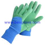 Латекс ягнится перчатка сада