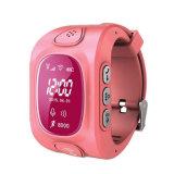 Het Slimme Horloge die van Gelbert met GPS GSM WiFi Drievoud Echte GPRS plaatsen - tijd Controle