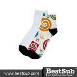 Mann-Sublimation-Socken des Bestsub Entwurfs-25cm (DLW04)