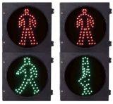 200mm uomo ambulante verde dell'uomo rosso-chiaro di arresto di traffico pedonale di 8 funzioni di pollice 2
