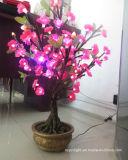Luz de la decoración de Navidad árbol de la calle al aire libre del hotel LED