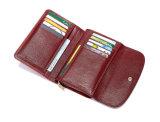 Guangzhou de Echte Leer Portefeuille van Dame Wallet Ladies Handbag Woman