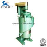 Séparateur à grande vitesse tubulaire de centrifugeuse de l'eau d'huile
