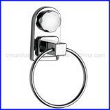 Anello della guida di tovagliolo degli accessori della stanza da bagno con la tazza di aspirazione