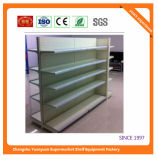 Estante de visualización de madera del metal del estante del supermercado 072816