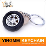Forma de encargo Keychain del coche del regalo del recuerdo del metal de la insignia de la promoción