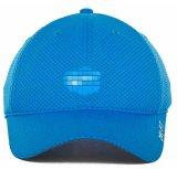 Цвет бейсбольной кепки голубой с логосом вышивки