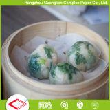 Papel Non-Stick do navio da soma não ofuscante de Siliconized para bolinhos de massa chineses