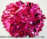 Colore rosa caldo metallico POM Poms