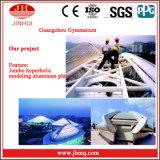 Prezzo di alluminio della parete divisoria del rivestimento di PVDF/Powder per le costruzioni (Jh158)