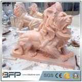 Natürlicher Granit/Marmor geschnitzte Steintierskulptur für Garten/im Freiendekoration