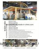 Chaîne de production non-tissée simple de tissu de S pp Spunbond