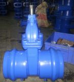 Pn16 Ductile Iron Resilient Seated Gate Valve per il PVC Pipes