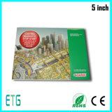 Prix concurrentiel d'approvisionnement d'usine de la Chine affichage à cristaux liquides de 7 pouces annonçant la brochure de vidéo de Brochure/LCD