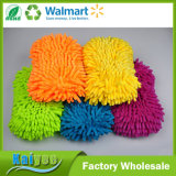 Mitón colorido absorbente de la colada de coche de Microfiber del agua de la alta calidad