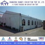 Tienda grande de la exposición de la feria profesional de la exposición del tejado