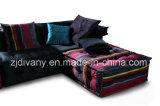 Sofá moderno clássico francês da tela da mobília da sala de visitas ajustado (LS-103 & T-53B & PS-S0304)