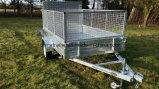 De gegalvaniseerde Aanhangwagen van de Schuine stand van de Doos met de Helling van het Aluminium voor Hete Verkoop