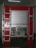 Высокоскоростные промышленные пластичные свертывают вверх дверь, пластичную дверь завальцовки