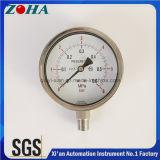 4 Zoll-des Durchmesser-SS Druck-Messinstrument mit Radialrichtung