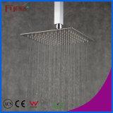 Fyeer ultra finas de acero inoxidable lluvia ducha cabezal de ducha cuadrado (qh325as)