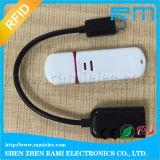 tamanho do leitor chave do USB 125kHz mini com o leitor da proximidade do Em ISO7815