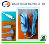 VDE Plugとの8W White 5V 1.5A Universal AC DC Adapter