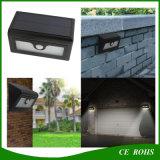 luz solar impermeável ao ar livre da parede da lâmpada solar sensível esperta doméstica do diodo emissor de luz do jardim do sensor de movimento 50LED com baterias substituíveis