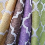 Tela de tapicería tejida telar jacquar geométrico contemporáneo de Ikat