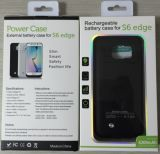 Caja de batería de la batería de la potencia externa para el borde de Samsung S6 (HB-141)