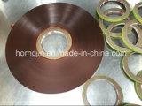 Blindando la tira sujeta con cinta adhesiva la hoja del cobre del Cu-Animal doméstico de las cintas del cobre (de la HOJA DE COBRE)