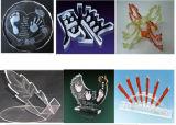 plexiglass de 1300mm*2500mm, acrylique, machine de découpage de laser de contre-plaqué