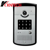 Do controle de acesso sem fio da segurança de Kntech telefone video da porta G/M