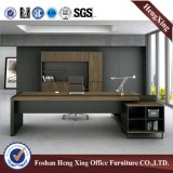 Роскошная конструкция l стол управленческого офиса формы (HX-ND5015)