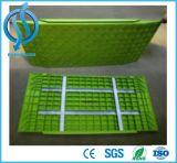 Passerelle piétonnière de fossé de sûreté en plastique de couverture