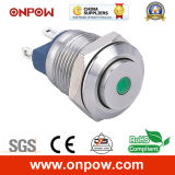 Onpow 12mm Metal Pushbutton Switch (GQ12-A SERIESのセリウム、RoHS Compliant)