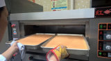 Professionelle elektrische Tellersegment-industrieller Brot-Ofen-Preis des Ofen-3 der Schicht-9