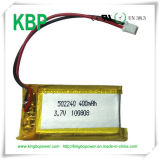 3.7V Rechargeable Polymer Lithium Battery für Bluetooth Headsets